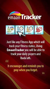 Emaan Tracker - náhled