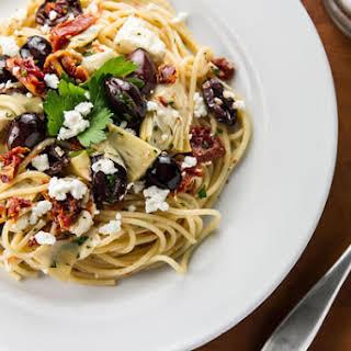 15-Minute Mediterranean Pasta.