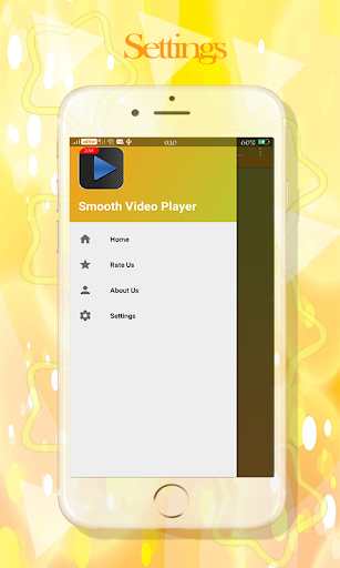 Video player : smooth & Background Player 1.2 screenshots 3