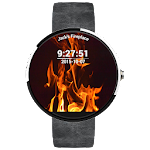 Fire Watchface - Android Wear apk