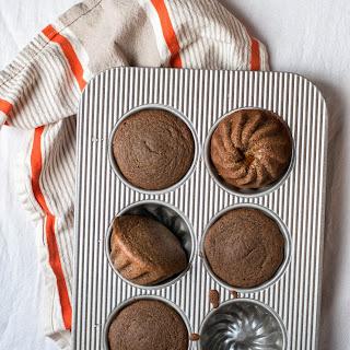 Mini Buttercup Squash Spice Cakes