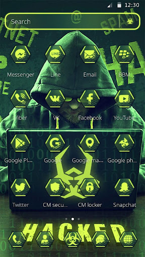 Secret Hacker Launcher Theme 1.1.5 screenshots 6