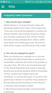 iSadaqah- screenshot thumbnail