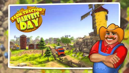 ファームトラクター- 収穫の日3D