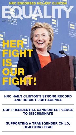 HRC Equality Magazine  screenshots 1