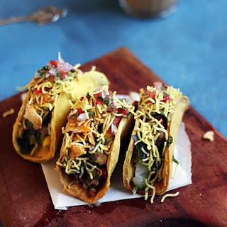 Aloo Chaat Recipe In Taco Shell
