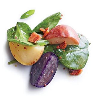Baby Potatoes with Warm Bacon Vinaigrette