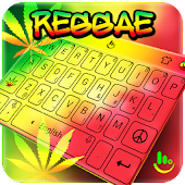 Reggae Cannabis Sativa Keyboard Theme