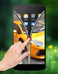 Car Zipper Lock screenshot