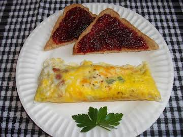 Ziploc Bag Omelet