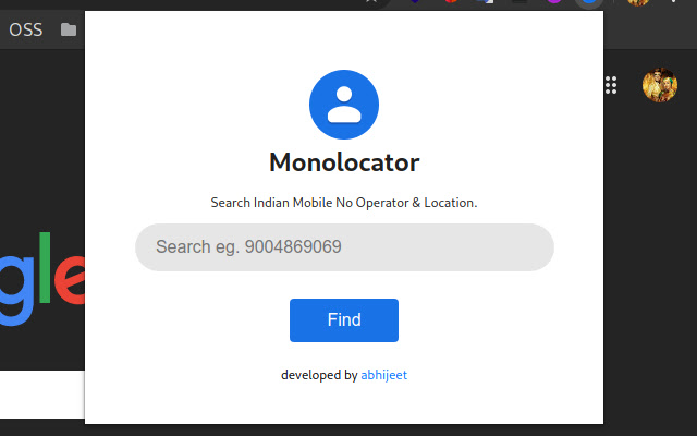 monolocator