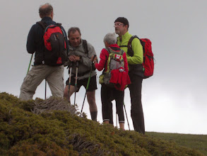 Photo: Petit colloque au sommet