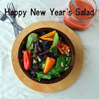 Happy New Year's Black Eyed Pea Salad
