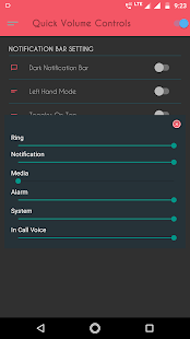 Quick Volume Controls - Quick Volume notification Screenshot