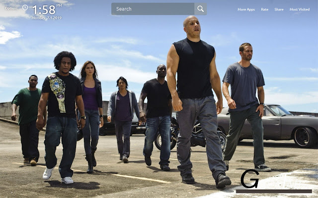 Fast And Furious Wallpapers Theme|GreaTab