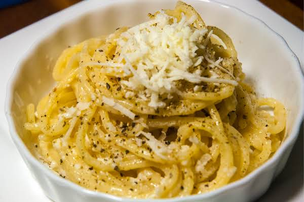 Cheese & Pepper Pasta (cacio E Pepe) Recipe