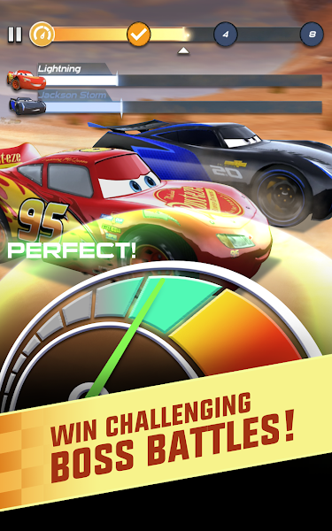 Cars: Lightning League v1.0 [Mod]