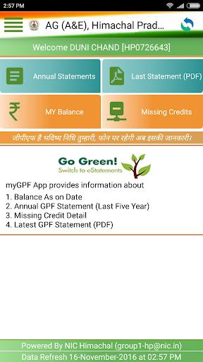 Gpf Balance