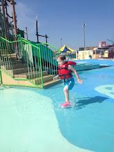 Photo: Splashing at the waterpark