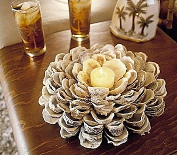 Diy seashell craft ideas android apps on google play for Large seashells for crafts