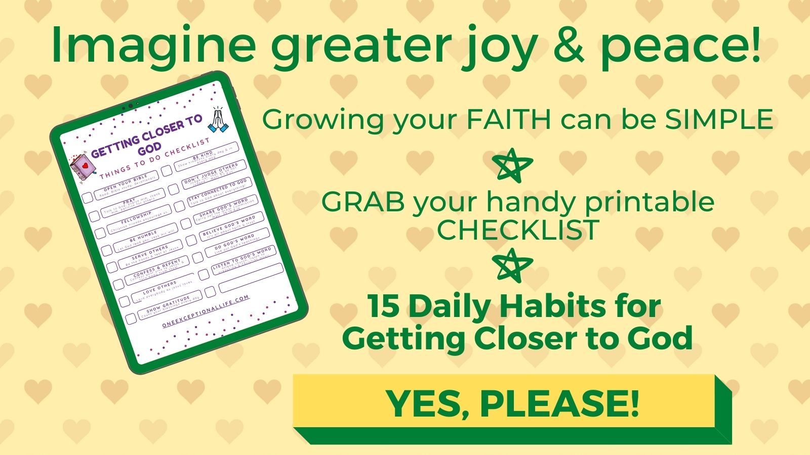 grab your free checklist here