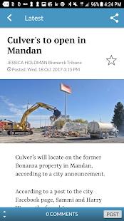 Bismarck Tribune - náhled
