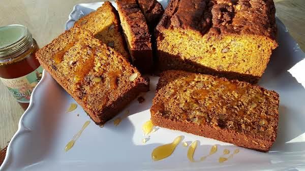 Banana Honey Bread Recipe