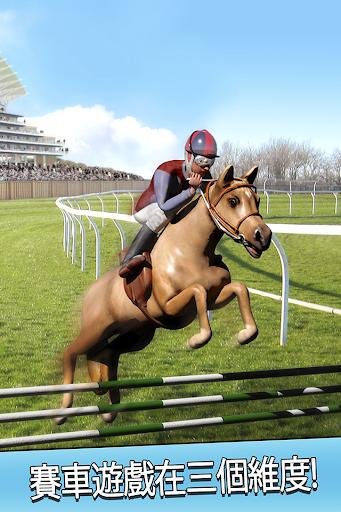跑馬騎馬的運行免費 - 3D 跳躍 賽跑馬賽車遊戲