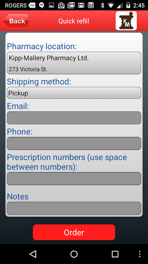 Kipp-Mallery Pharmacy- screenshot