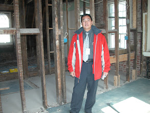 Photo: November 2003 - Month: Lt. Col. Huang, Taiwan's representative in the sale of the house