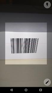 Skaner kodów kreskowych - náhled