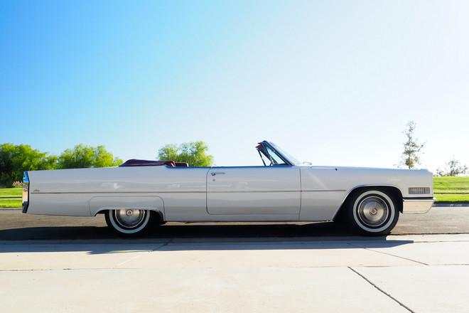 1966 Cadillac Convertible Hire California