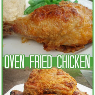 Oven Fried Chicken.