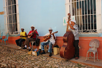 Photo: Trinidad was the first place where we met Cuban musicians