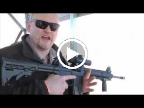 Video: Testing the AR-15 Weaver Red-Green Dot Scope .