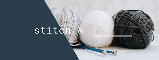 Stitch & Blank - Facebook Page Cover Template