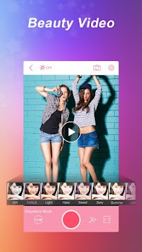 InstaBeauty - Selfie محرر APK screenshot thumbnail 7
