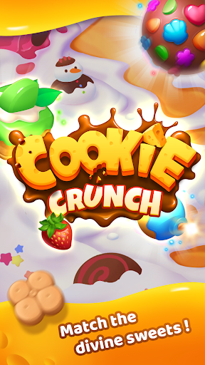 Cookie Crunch - Matching, Blast Puzzle Game apkdemon screenshots 1