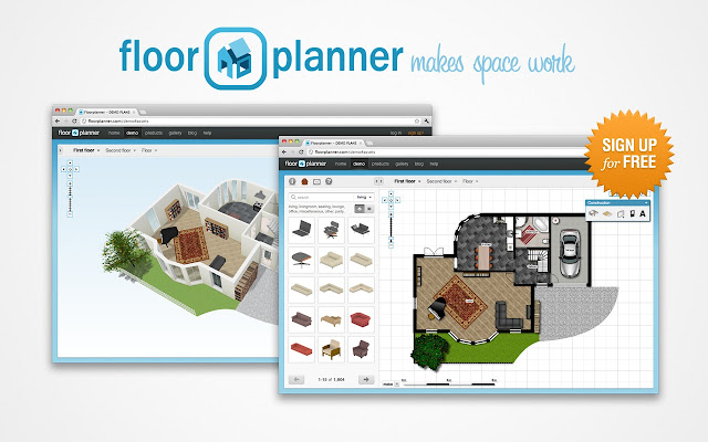 the easiest way to create floor plans - Floor Plan Planner