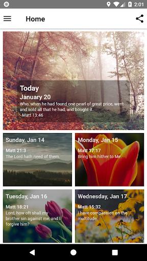 Mornings With God - Lite 4.54.0 screenshots 1