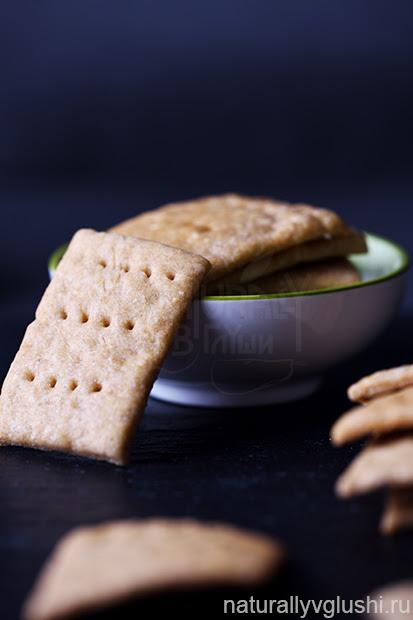 Цельнозерновые крекеры рецепт | Блог Naturally в глуши