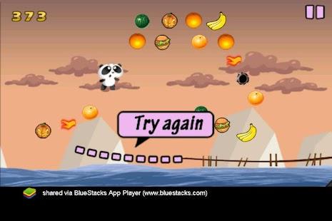 Panda Fun Fly screenshot