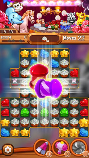 Candy Amuse: Match-3 puzzle screenshots 2
