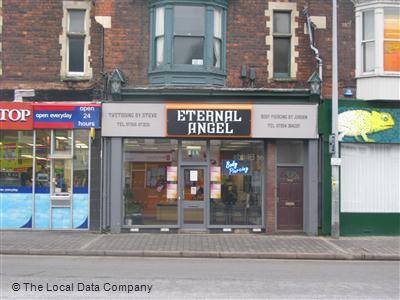Eternal Angel On High Street Tattooing Piercing In Town Centre