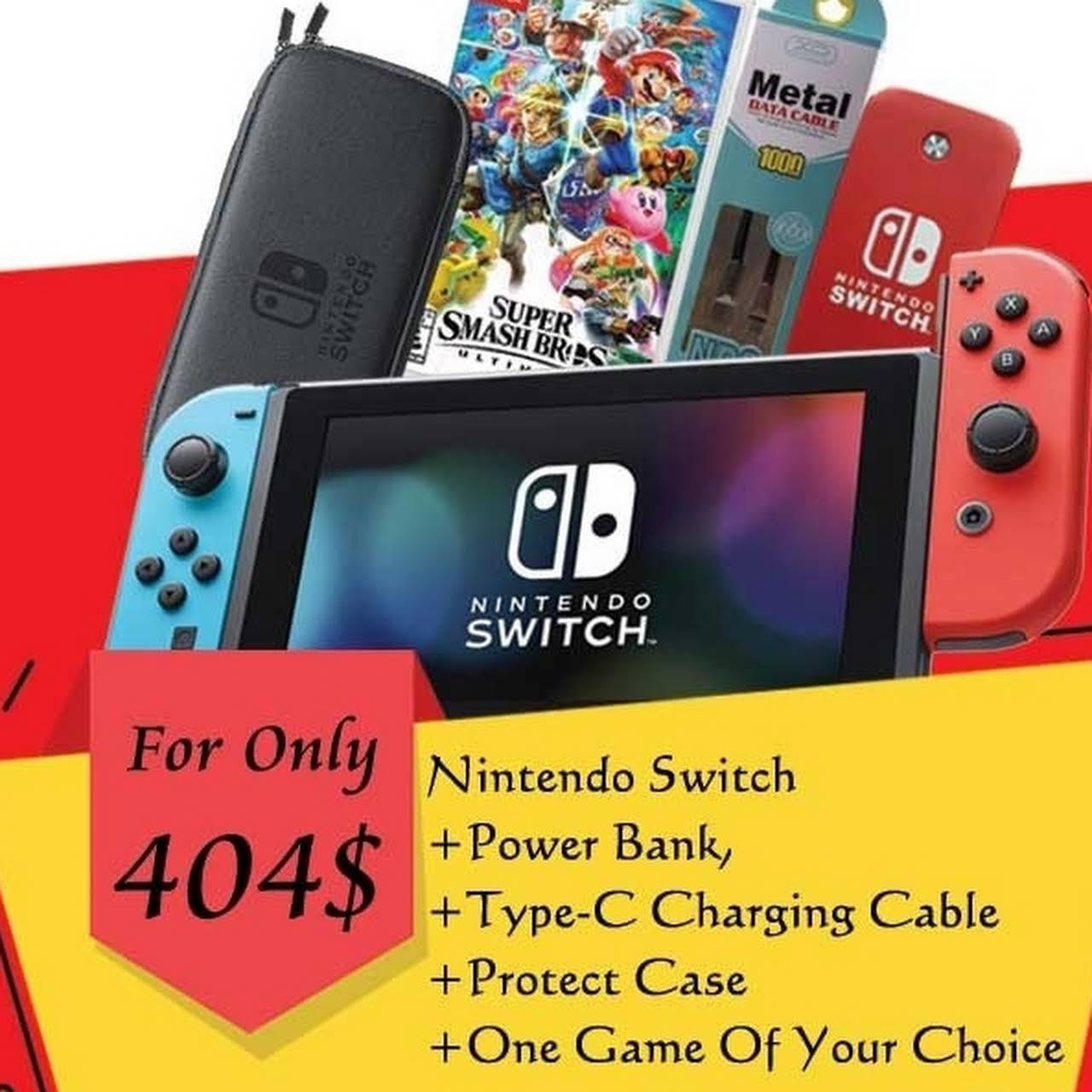 nintendo switch jeux ferme