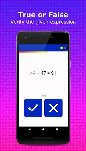 Tricky Math   Brain Training Games android2mod screenshots 3