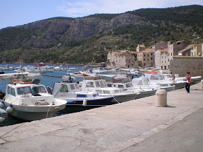 Photo: Harbour of Komiza, town on Vis Island