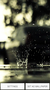 Rain Live Wallpaper With Sound - Apps on Google Play