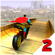 Super Hero Bike Mega Ramp 2