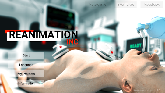 Reanimation inc: Realistic Emergency ER Simulator! Apk Download For Android and Iphone 8